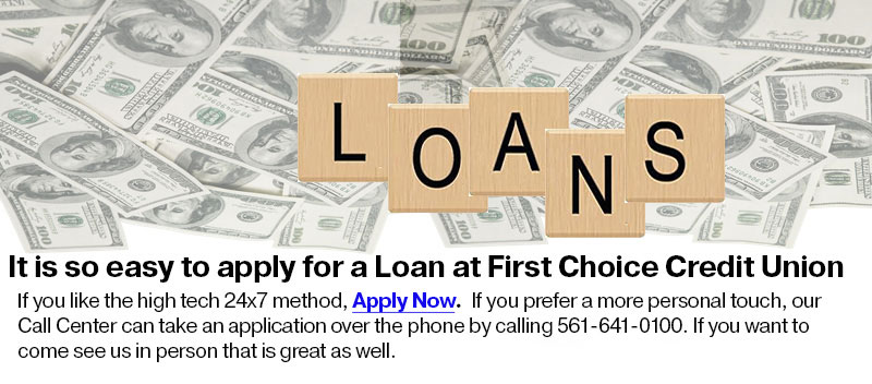 LOANS, it's so easy to apply for a loan