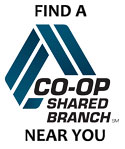 Find a CO-OP Shared Branch near you.